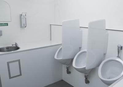 Toiletwagen groot ruim