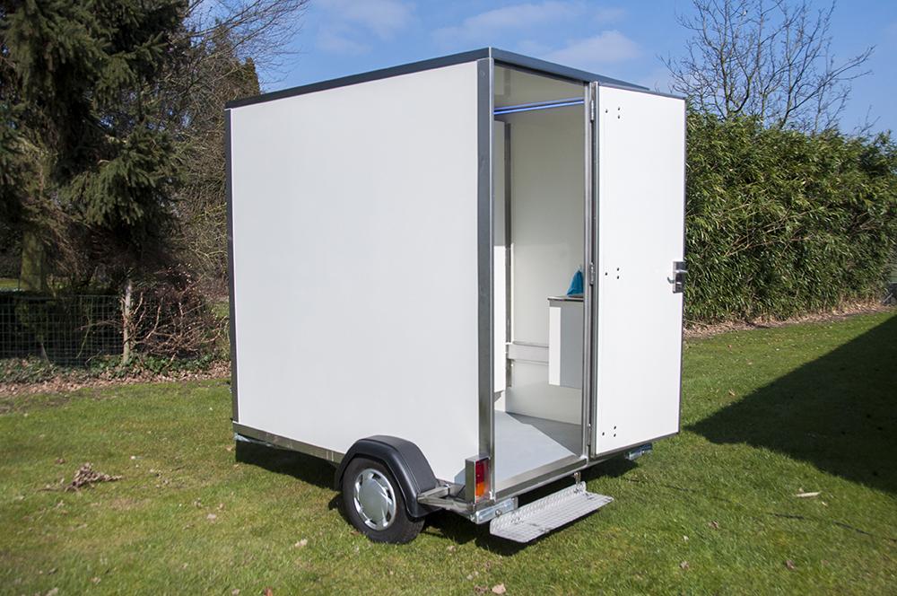 Toiletwagen Klein Corto Toiletwagenverhuur