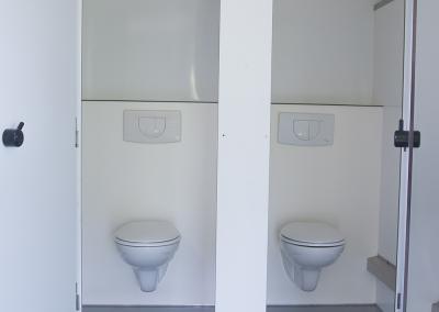 Toiletwagen middel standaard